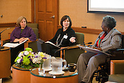 "Women in Philanthropy of Ohio University ""Women's View"" talk show at Baker Center Theater on November 7, 2013."