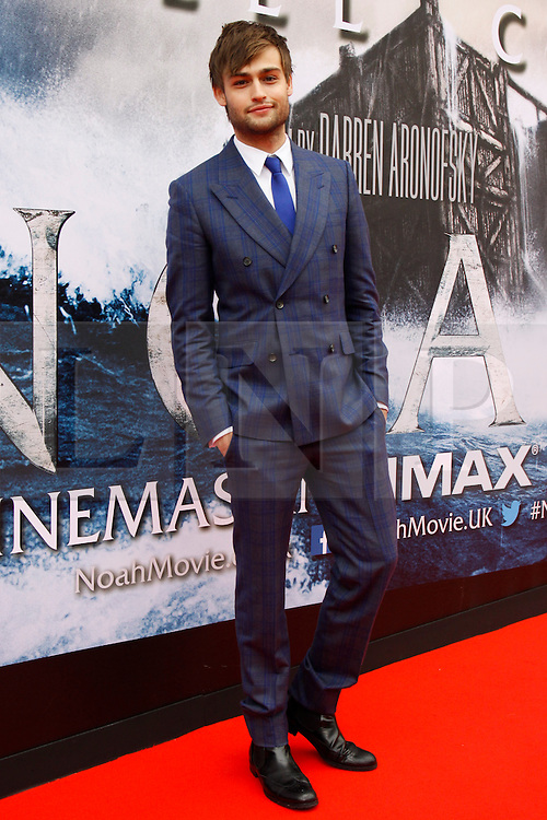 © Licensed to London News Pictures. 29/03/2014. Edinburgh, Scotland. Douglas Booth attends the Scottish Premier of his new movie Noah at the Filmhouse in Edinburgh. Photo credit : Duncan McGlynn/LNP