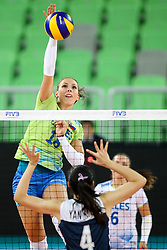 Sasa Planinsec of Slovenia during the volleyball match between National team of Slovenia and China in Preliminary Round of Womens U23 World Championship 2017, on September 12, 2017 in SRC Stozice, Ljubljana, Slovenia. Photo by Morgan Kristan / Sportida