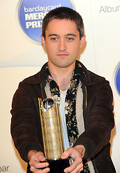 Mercury Prize. <br /> Connor from The Villagers attends the Barclaycard Mercury Prize at The Roundhouse, London, United Kingdom. Wednesday, 30th October 2013. Picture by i-Images