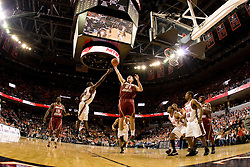 Boston College forward Tyler Roche (21) grabs a rebound against Virginia.  The Virginia Cavaliers men's basketball team defeated the Boston College Golden Eagles 84-66 at the John Paul Jones Arena in Charlottesville, VA on January 19, 2008.