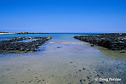 ancient Hawaiian fishtrap, Kaloko-Honokohau National Historic Park, Kona, Hawaii, USA ( Central Pacific Ocean )