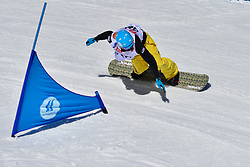 World Cup Banked Slalom, MILLER Zachary, USA at the 2016 IPC Snowboard Europa Cup Finals and World Cup