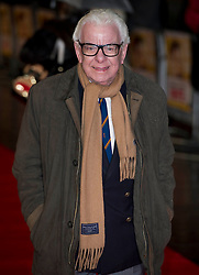 Barry Cryer arrives for the Run For Your Wife - UK film premiere Odeon -Leicester Sq- London Brit comedy about a happily married man - with two wives, Tuesday  February 5, 2013. Photo: Andrew Parsons / i-Images