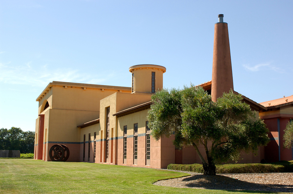 Clos Pegase Winery, Calistoga, Napa Valley, California, United States of America
