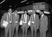 1980 - Members of Irish team Depart for Moscow Olympics