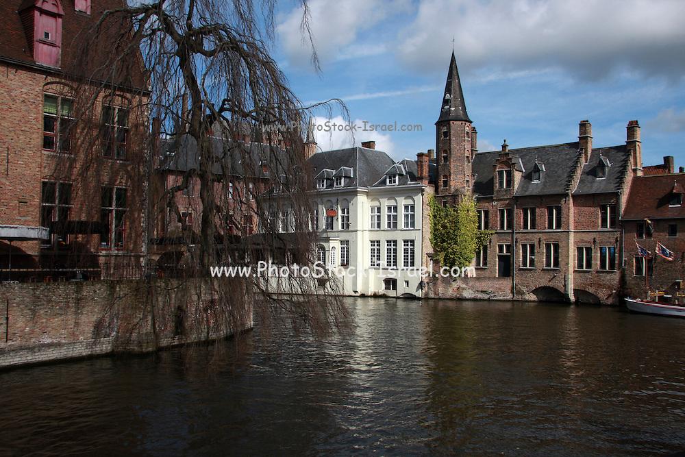 Belgium, Bruges, Canal