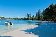 Bay de Kanumera,Ile des Pins, New Caledonia, Melanesia, South Pacific