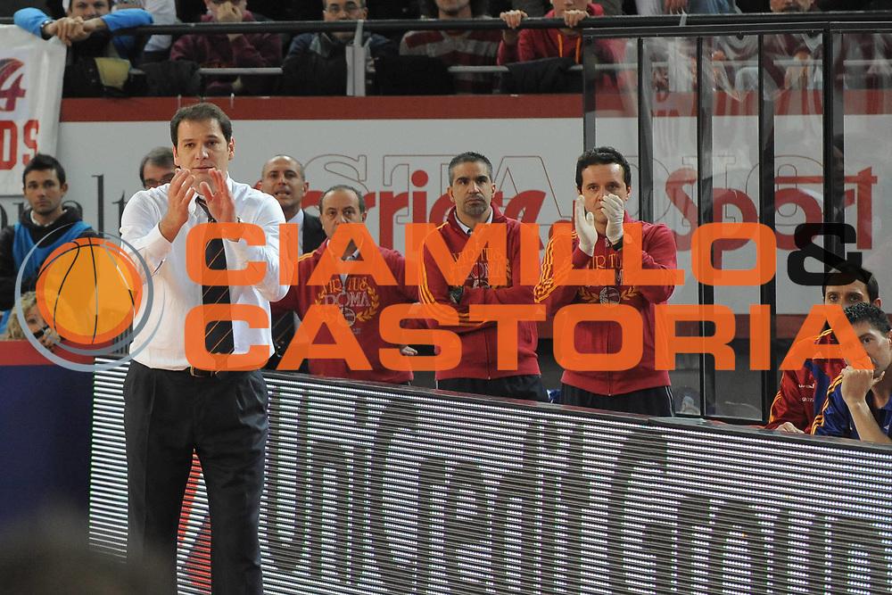 DESCRIZIONE : Roma Lega A1 2008-09 Lottomatica Virtus Roma Air Avellino<br /> GIOCATORE : Nando Gentile Lucio De Fazio Ferdinando Cavaliere<br /> SQUADRA : Lottomatica Virtus Roma<br /> EVENTO : Campionato Lega A1 2008-2009<br /> GARA : Lottomatica Virtus Roma Air Avellino<br /> DATA : 14/12/2008<br /> CATEGORIA : Esultanza<br /> SPORT : Pallacanestro<br /> AUTORE : Agenzia Ciamillo-Castoria/G.Ciamillo
