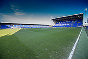 General stadium view during the Vanarama National League match between Tranmere Rovers and Forest Green Rovers at Prenton Park, Birkenhead, England on 11 April 2017. Photo by Shane Healey.