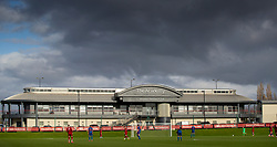 LIVERPOOL, ENGLAND - Monday, February 24, 2020: A general view during the Premier League Cup Group F match between Liverpool FC Under-23's and AFC Sunderland Under-23's at the Liverpool Academy. (Pic by David Rawcliffe/Propaganda)
