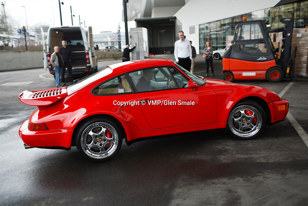 Porsche 911 Turbo S Exclusive taken at Porsche Museum, Stuttgart 25th February 2011