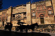 SPAIN: Andalucia.<br /> Cordoba's Mosque-Cathedral or &quot;Mesquita&quot; is the grandest and most exquisite the Moors ever consructed in Spain.