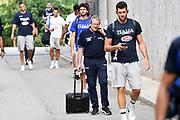 Sandro Senzameno<br /> Nazionale Italiana Maschile Senior - Trentino Basket Cup 2019<br /> Italia Italy Romania Romania<br /> FIP 2019<br /> Trento, 30/07/2019<br /> Foto M.Ceretti / Ciamillo-Castoria
