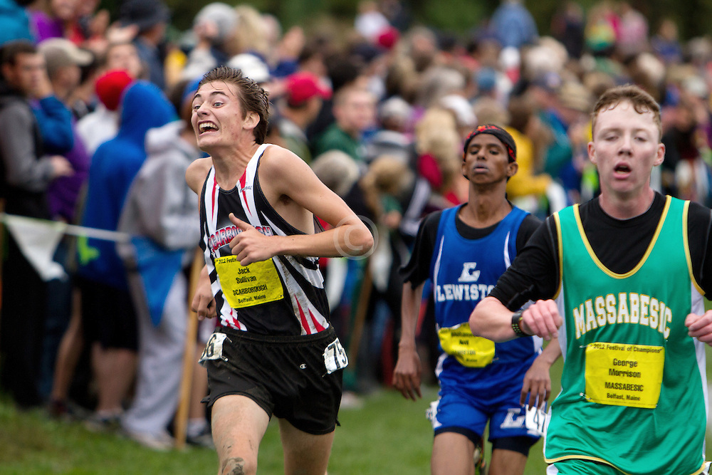 Festival of Champions High School Cross Country meet, Jack Sullivan, Scarborough,