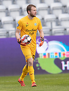 FODBOLD: Ingvar Jónsson (Viborg FF) under kampen i NordicBet Ligaen mellem Viborg FF og FC Helsingør den 24. marts 2019 på Energi Viborg Arena. Foto: Claus Birch