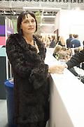 ELENA KHUDIAKOVA, Art13 London First night, Olympia Grand Hall, London. 28 February 2013