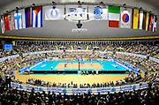 © Filippo Alfero<br /> Torino , 18/07/2008<br /> World League Pallavolo 2008 - Italia vs Cuba<br /> sport , volley<br /> Nella foto: il palazzetto gremito