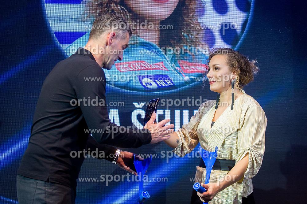 Ilka Stuhec during Sports marketing and sponsorship conference Sporto 2017, on November 16, 2017 in Hotel Slovenija, Congress centre, Portoroz / Portorose, Slovenia. Photo by Vid Ponikvar / Sportida