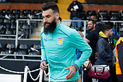 Aston Villa midfielder Mile Jedinak (15) during the EFL Sky Bet Championship match between Fulham and Aston Villa at Craven Cottage, London, England on 17 February 2018. Picture by Andy Walter.