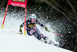 "Tina Weirather (LIE) competes during 1st Run of the FIS Alpine Ski World Cup 2017/18 5th Ladies' Giant Slalom race named ""Golden Fox 2018"", on January 6, 2018 in Podkoren, Kranjska Gora, Slovenia. Photo by Ziga Zupan / Sportida"