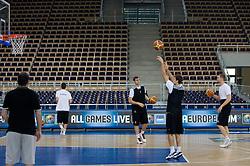 Goran Dragic of Slovenia during the practice session, on September 11, 2009 in Arena Lodz, Hala Sportowa, Lodz, Poland.  (Photo by Vid Ponikvar / Sportida)