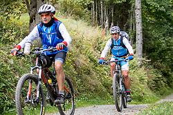 13-09-2017 FRA: BvdGF Tour du Mont Blanc day 4, Trient<br /> Van Chamonix naar Trient / Alberto