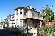 British housing in Barrio de Bella Vista the ´English colony´, Rio Tinto mining area, Huelva province, Spain