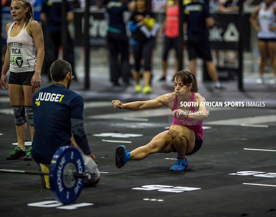 COCA-COLA DOME, JOHANNESBURG, SOUTH AFRICA - MAY 30: During the AFRICA REEBOK CROSSFIT GAMES 2014. (Photo by Anton Geyser)