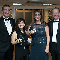 Perthshire Chamber of Commerce Business Star Awards 2017…Crieff Hydro Hotel<br />From left, Ian Collins, Bernadette Hennen, Jo Collins and Ian Hennen<br />Picture by Graeme Hart. <br />Copyright Perthshire Picture Agency<br />Tel: 01738 623350  Mobile: 07990 594431