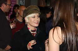 Singer SIOBHAN FAHEY at a party to launch Pearl Lowe's fashion held at The Cross. 141 Portland Road, Holland Park, W11 on 30th October 2006.<br /><br />NON EXCLUSIVE - WORLD RIGHTS