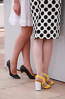 Actress Anais Demoustier and Director Valerie Donzelli at the Marguerite & Julien film photo call at the 68th Cannes Film Festival Tuesday May 19th 2015, Cannes, France.