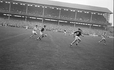 All Ireland Senior Football Final Galway v. Dublin 22nd September 1963 Croke Park...22.09.1963  22nd September 1963Dublin.1-9.Galway.0-10..P. Flynn, L. Hickey, L. Foley, W. Casey, D. McKane, P. Holden, M. Kissane, D. Foley (Captain), John Timmons, B. McDonald, Mickie Whelan, G. Davey, S. Behan, D. Ferguson, N. Fox..Sub: P. Downey for P. Holden..D. Foley (Captain).