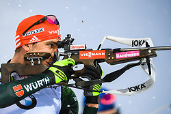 March 16, 2019 - –Stersund, Sweden - 190316 Arnd Peiffer of Germany competes in the Men's 4x7,5 km Relay during the IBU World Championships Biathlon on March 16, 2019 in Östersund..Photo: Petter Arvidson / BILDBYRÃ…N / kod PA / 92269 (Credit Image: © Petter Arvidson/Bildbyran via ZUMA Press)