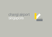 Changi Airport Singapore branding.<br />