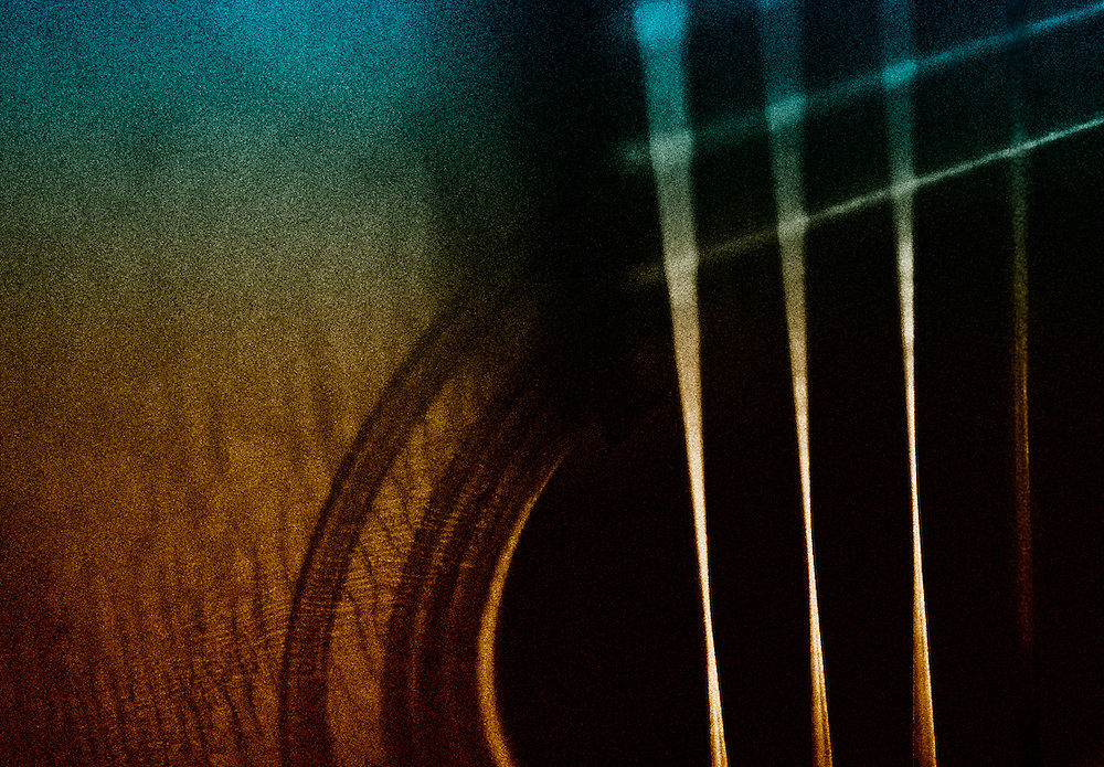 1966 Giannini Brazilian acoustic guitar sound hole detail.