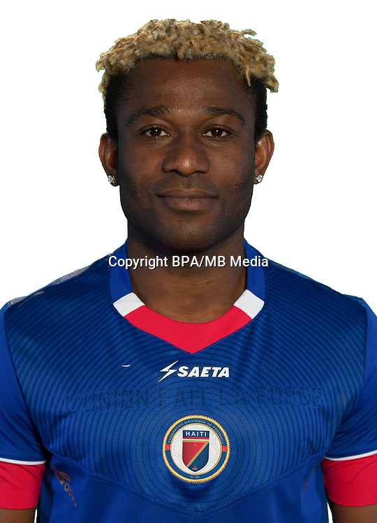 Football Conmebol_Concacaf - <br />Copa America Centenario Usa 2016 - <br />Haiti National Team - Group B - <br />Sony Norde