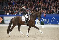 Van Liere Dinja (NED) - Etoile<br /> KWPN Stallion Selection - 's Hertogenbosch 2014<br /> © Dirk Caremans