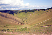 Devil's Dyke chalk dry valley, near Brighton, Sussex, England