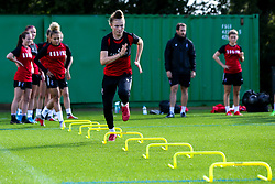 Ellie Strippel of Bristol City Women during training at Failand - Mandatory by-line: Robbie Stephenson/JMP - 26/09/2019 - FOOTBALL - Failand Training Ground - Bristol, England - Bristol City Women Training