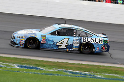 July 22, 2018 - Loudon, NH, U.S. - LOUDON, NH - JULY 22: Kevin Harvick, driver of the #4 Busch Beer Ford in turn 4 during the Monster Energy Cup Series Foxwoods Resort Casino 301 race on July, 21, 2018, at New Hampshire Motor Speedway in Loudon, NH. (Photo by Malcolm Hope/Icon Sportswire) (Credit Image: © Malcolm Hope/Icon SMI via ZUMA Press)