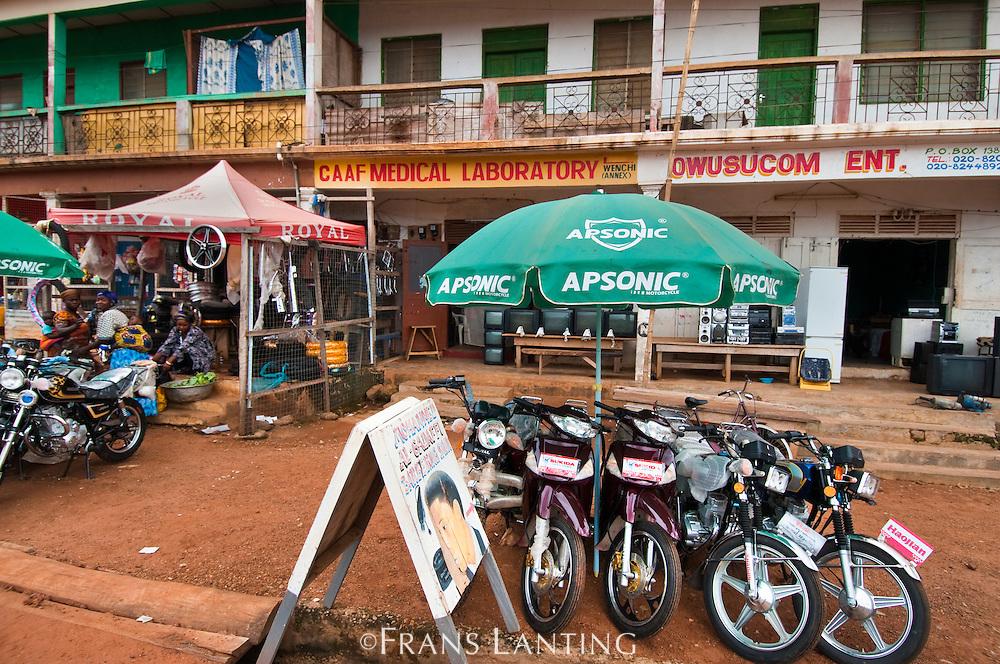 Street scene, Ghana
