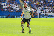 Fulham's Jamie O'Hara  during the Sky Bet Championship match between Cardiff City and Fulham at the Cardiff City Stadium, Cardiff, Wales on 8 August 2015. Photo by Shane Healey.