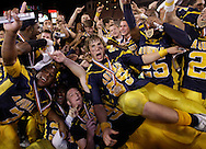 12-19-2008  AL DIAZ / MIAMI HERALD STAFF -- St. Thomas Aquinas Raiders vs Lakeland Dreadnaughts at Florida Citrus Bowl Stadium in Orlando...The Raider's celebrate their State Championship win 56-7.  In the center is Gunner Dennis, (99). AL DIAZ / MIAMI HERALD STAFF