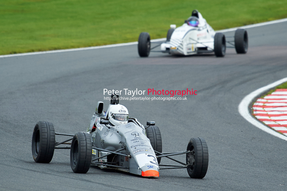 #3 Tom Brown Ray GR07 during Avon Tyres Formula Ford 1600 Northern Championship - Prost 89 Race 1 as part of the BRSCC Fun Cup Oulton Park 17th October 2015 at Oulton Park, Little Budworth, Cheshire, United Kingdom. October 17 2015. World Copyright Taylor/PSP. Copy of publication required for printed pictures.  Every used picture is fee-liable. http://archive.petertaylor-photographic.co.uk