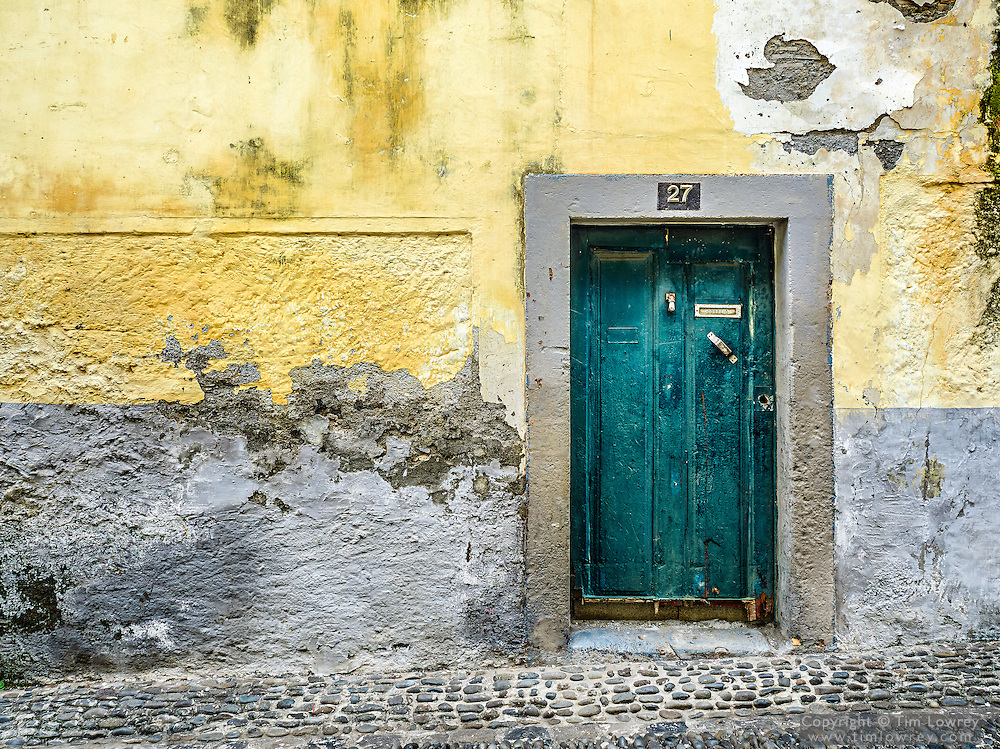 Doorway in Funchal Old Town, Madeira