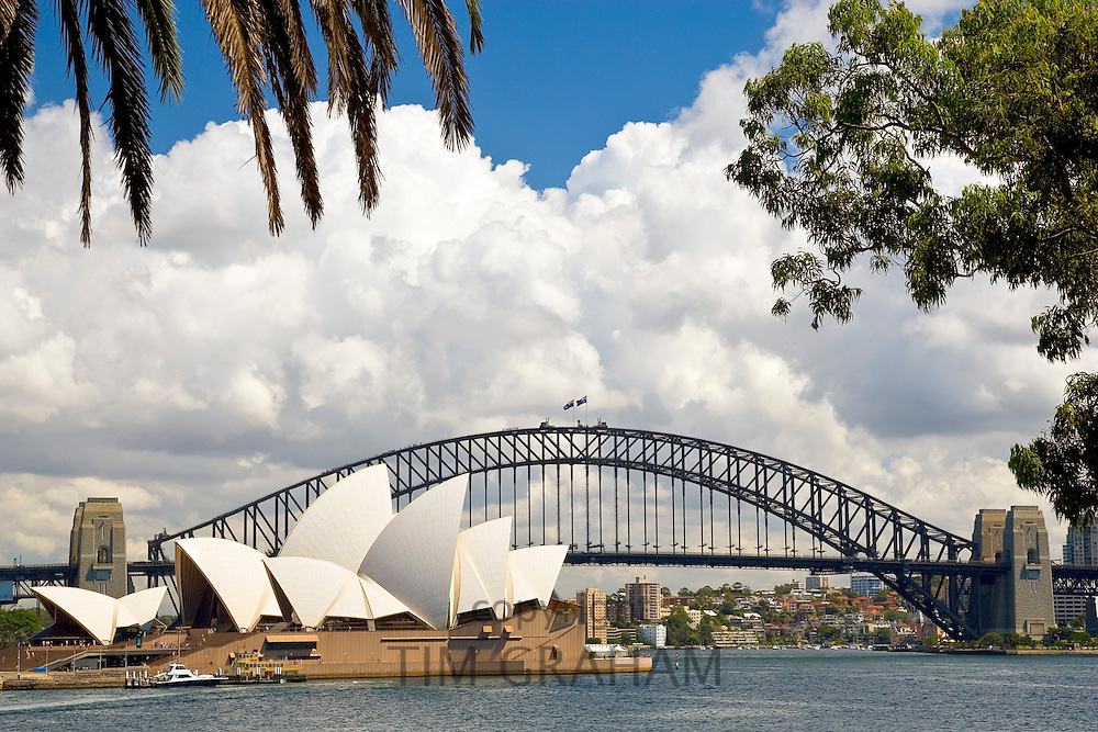 Sydney Opera House and Sydney Harbour Bridge, Australia