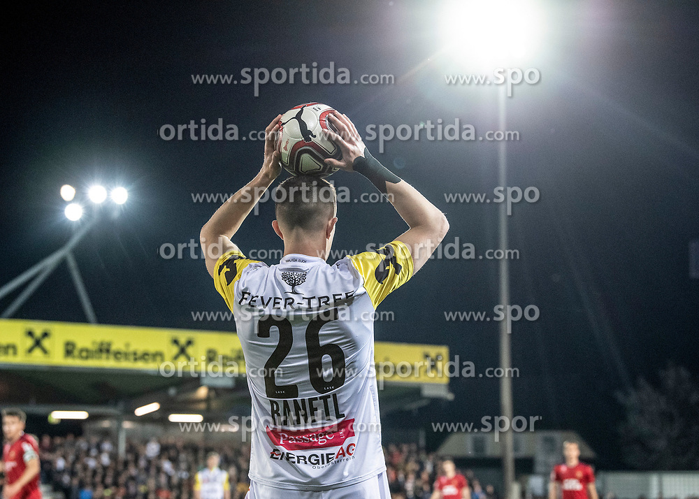 03.04.2019, TGW Arena, Pasching, AUT, OeFB Uniqa Cup, LASK vs SK Rapid Wien, Halbfinale, im Bild Reinhold Ranftl (LASK) // during the halffinal match of the ÖFB Uniqa Cup between LASK and SK Rapid Wien at the TGW Arena in Pasching, Austria on 2019/04/03. EXPA Pictures © 2019, PhotoCredit: EXPA/ Reinhard Eisenbauer