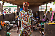 Sana Yidana, Magaazier, leader of Kasalagu Women's Cooperative. Organic Shea butter producers  Tamale, Northern Region, Ghana.