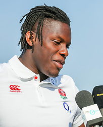 Maro Itoje of England - Mandatory by-line: Steve Haag/JMP - 14/06/2018 - RUGBY - Kashmir Restaurant - Durban, South Africa - England Rugby Press Conference, South Africa Tour
